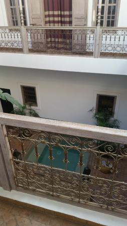 Riad Altair: View from the first floor