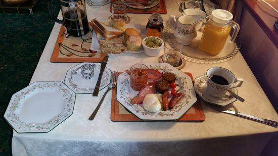 Freshford, Irlandia: Breakfast