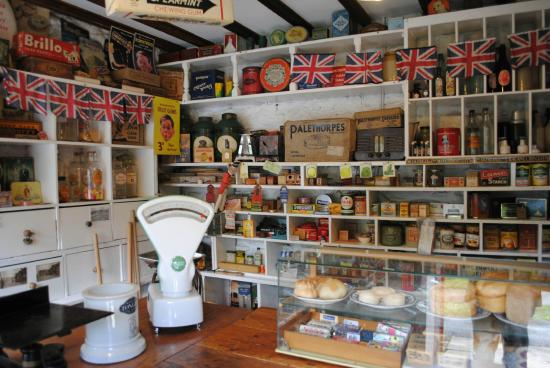 View in the museum grounds picture of ryedale folk - Printable ho scale building interiors ...