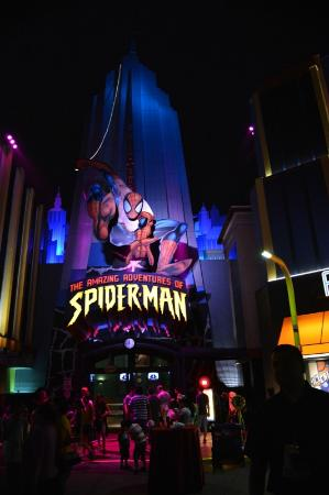 Universal's Islands of Adventure: Spiderman
