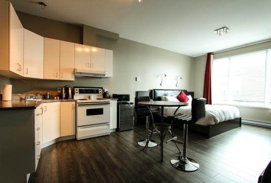 Hotel Le Saint-Germain : Le nouveau loft #202 ! Chambre à 1 lit King