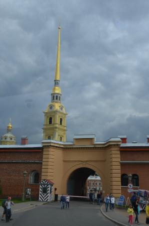 Peter-Paulus-festningen: The Gate of the Peter and Paul Fortress