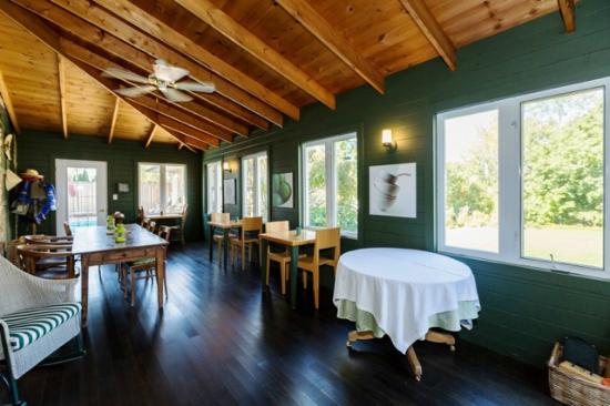 Delta, Canada: Breakfast verandah