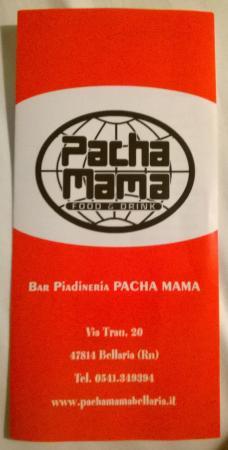 cassone cotto e mozzarella :) <3 - Picture of Pacha Mama, Bellaria ...