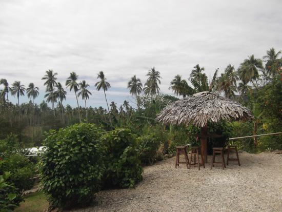 Lakatoro, Vanuatu: vue de la terrasse