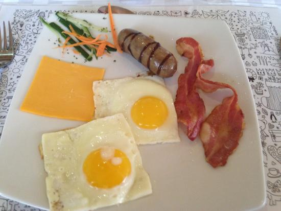 Dive Inn Bed and Breakfast : Breakfast