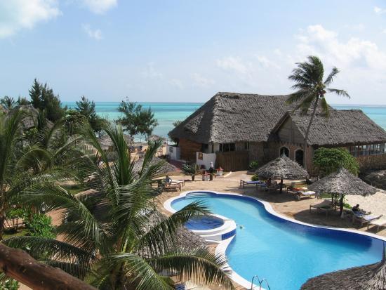 Reef Beach Resort Zanzibar Piscina E Ristorante Hotel