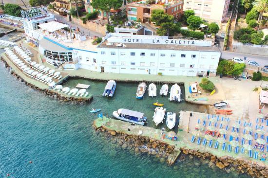 Porto Santo Stefano, إيطاليا: vista aerea