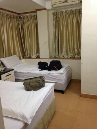 Hi Inn @Nathan Road: มีเตียงเล็ก กับเตียงใหญ่