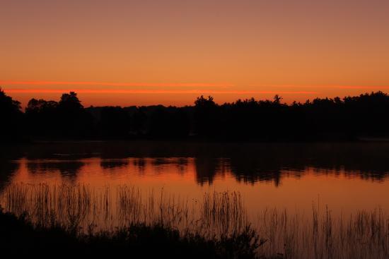Massasauga Provincial Park: Port Rawson Bay Sunrise, Site 212