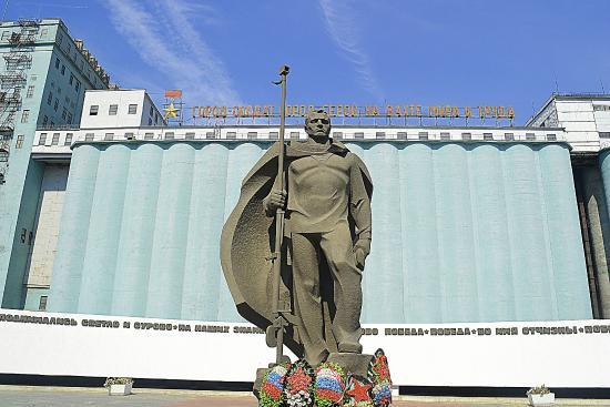 Памятник у элеватора волгоград топливный фильтр фольксваген транспортер