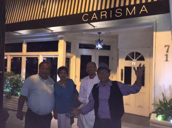 Carisma: Ultimate fine italian dining by the Alonzo brothers...bruno alonzo jr (california), honorio Alon