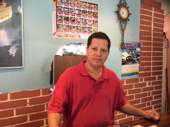 Gualaquiza, Ekwador: The friendly owner Raul Perez