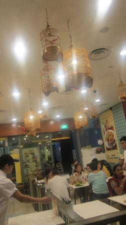 Curry Times - Westgate, Singapore: delightful deco