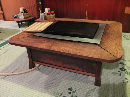 les plaques chauffantes picture of asakusa okonomiyaki sometaro taito tripadvisor. Black Bedroom Furniture Sets. Home Design Ideas