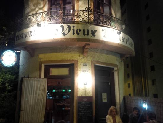 le vieux bruxelles: Fachada del Restaurante