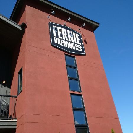 Fernie Brewing Co.: Outside of the Fernie Brewing Company