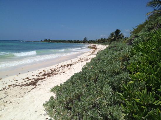 Xpu Ha Beach Plage