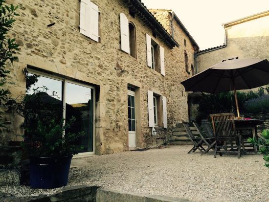Soyans, France: Gite de bois vieux juillet 2015