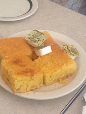 Miss Mamie's Spoonbread Too: This food was AMAZING! Cornbread, oxtails, and the fruit punch. Got to meet the owner and here s