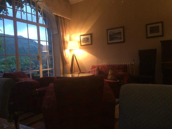 Haweswater Hotel: Lounge area with games