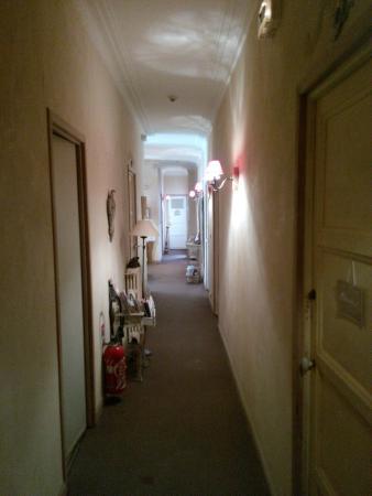 Hotel Rex: Коридор отеля