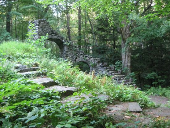 West Chesterfield, Nueva Hampshire: the ruins
