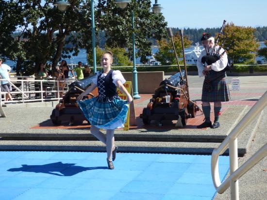 Nanaimo, Kanada: Atração de dança