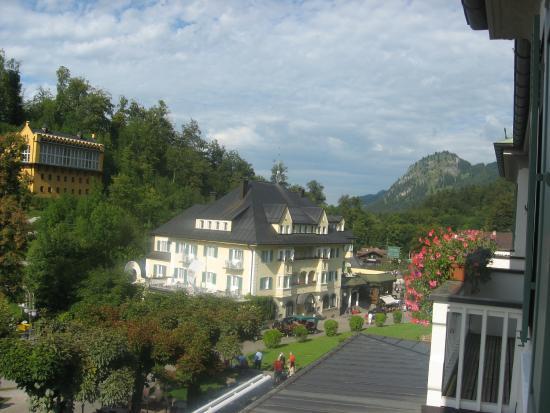 Schlosshotel Lisl : Вид из окна номера