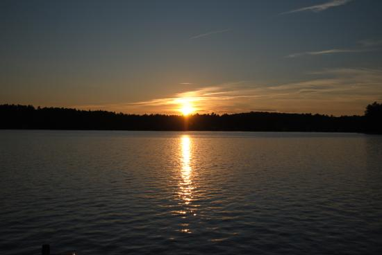 Raymond, Maine: Sunset