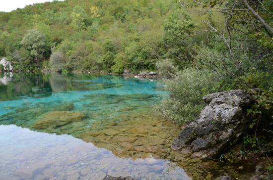 Riserva Naturale Regionale Lago di Cornino : Lago del Cornino