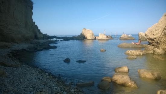 Punta dell'Acquabella: dalla spiaggetta