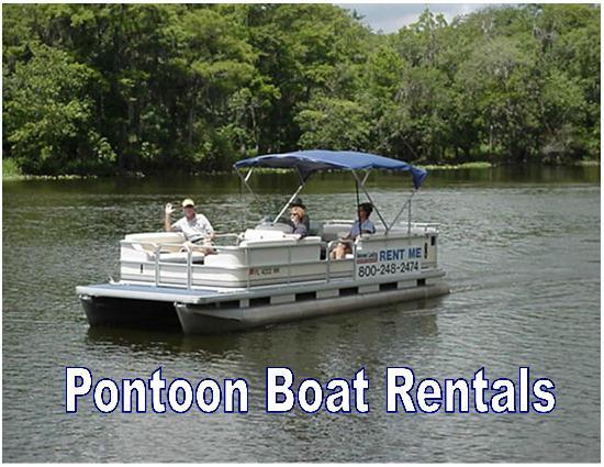 Pontoon Boat Rentals For Exploring The St Johns River