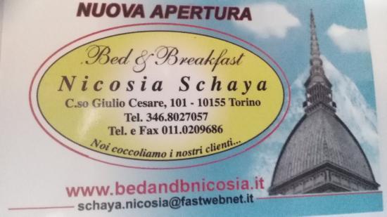 B&B Nicosia - Schaya