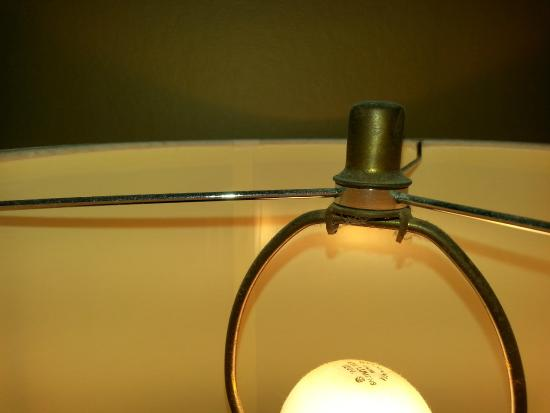 Lakeview Golf Resort and Spa: Dirty lamps