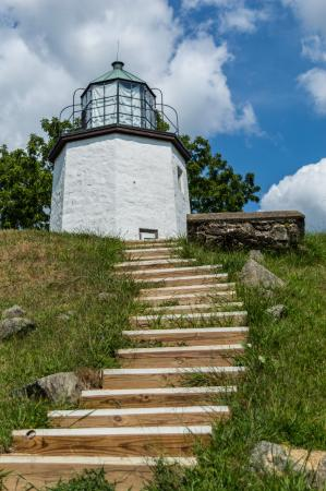 ‪‪The Stony Point Battlefield Lighthouse‬: Stony Point lighthouse‬
