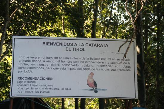San Ramon, Perù: Recepción a la altura del parqueo