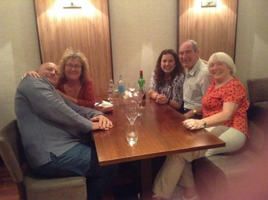 Willingdon, UK: End of a successful evening