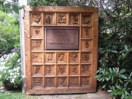 Asticou Terraces / Thuya Garden: Garden gate