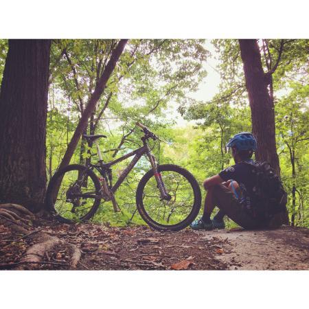 Buffalo Creek Park Mountain Biking Trail
