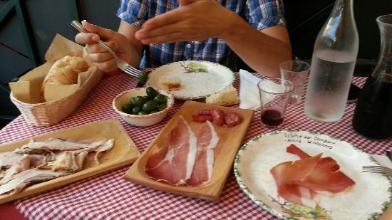 Piatti tipici foto di osteria dar compare ariccia for Piatti tipici roma