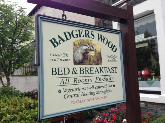 Badgers Wood Guest House: Badger Woods Guest House