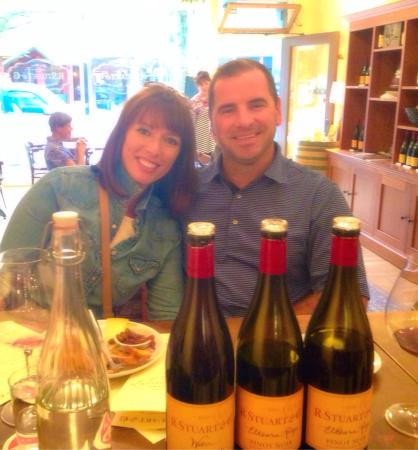 R Stuart & Co.: Excellent wine (it helps the owner is a Buffalo man!) the gals that work there are amazing! Frie