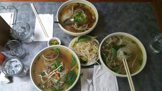Pho Vietnam: Pho Beef, Pho Pork, and Pho sizzling steak