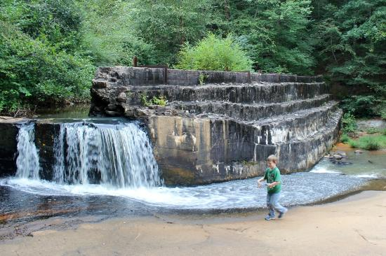 Palmetto, GA: Old Dam at Cochran Mill Nature Center