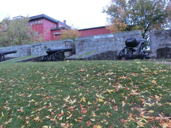 Fortifications of Quebec National Historic Site: 砲兵公園