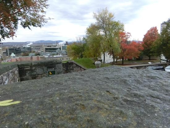 Fortifications of Quebec National Historic Site: ケベック市街の展望