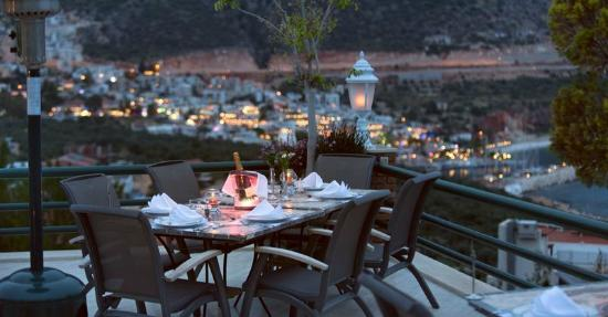 Sea Point Restaurant at the Kalkan Regency Hotel