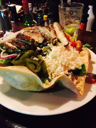 Wood Creek Bar & Grill: Special. Southwest salad.