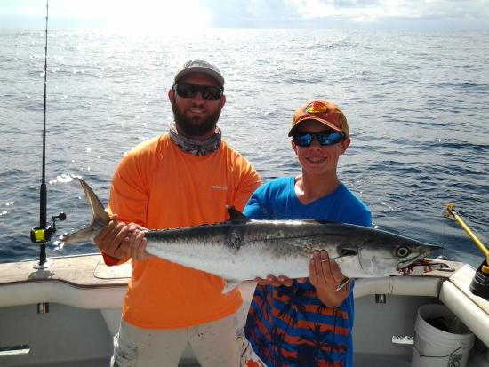 Fired Up Fishing Charters: Big King Fish